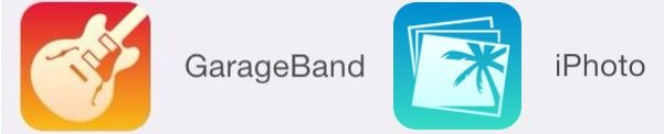New iOS 7 Icons for GarageBand and iPhoto Appear, Hinting at Upcoming Redesign