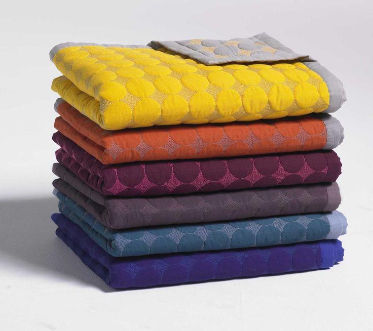 HAY Decke/Tagesdecke Decke Baby Dot Quilt - violett HAY, Baumwolle#Füllung Polyester: Amazon.de: Küche & Haushalt