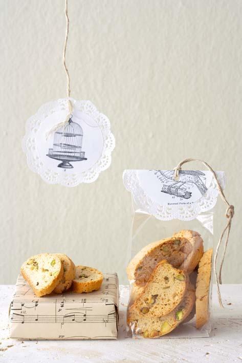 Egg-free bakes: Pistachio biscotti