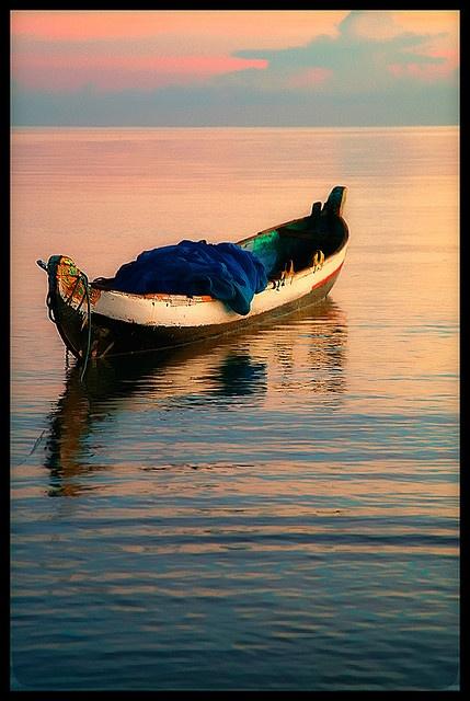 A boat in Pemuteran