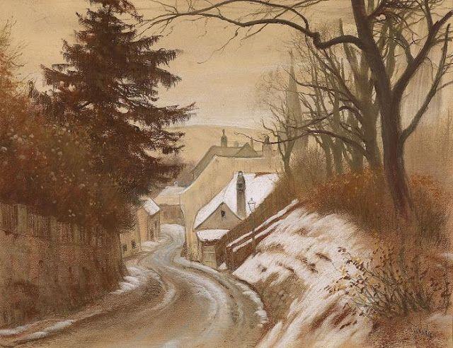 Anton Filkuka (1888-1957) Austrian Artist
