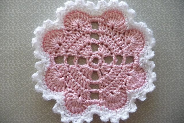 tegido muy creativi.Hearts Around Crochet