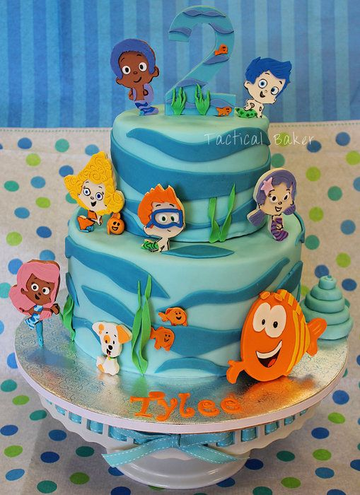 How great is this cake?! A fan made it! #BubbleGuppies #Birthday #NickJr