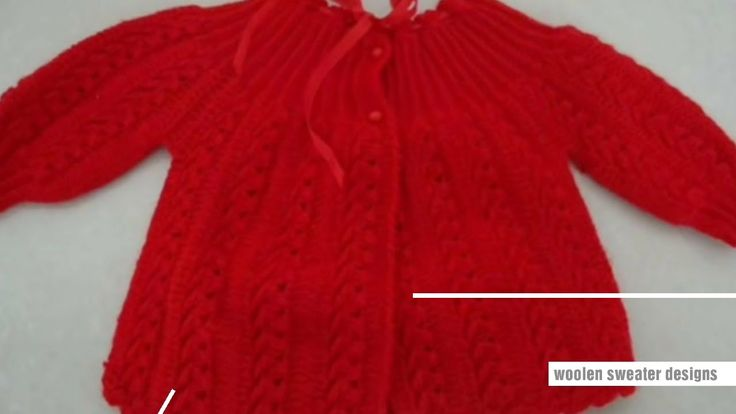 Sweater design | latest sweater designs for kids or baby in hindi - woolen sweater designs