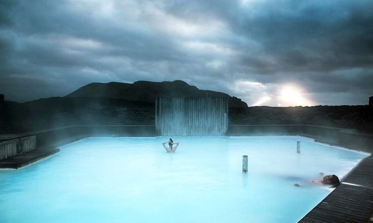 While the water is perfectly safe for visitors to take a dip in, the high mineral content makes it unsuitable for recycling and it must be filtered through the porous rock of the lava field before it can be returned to the landscape.