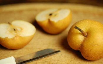 Nashi peer, een bijzonder smakelijke vrucht uit Japan