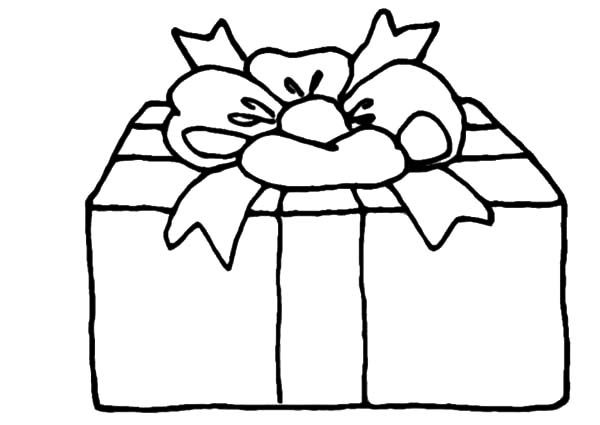 Printable Christmas Present Coloring Pages - Christmas Coloring ... | 425x600
