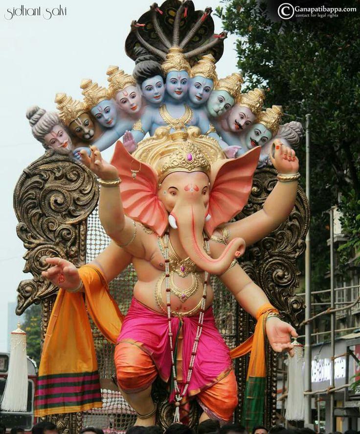 Ganapati Mumbai Ganesh Chaturthi Celebration 2015   Ganesha hindu, Ganesh  lord, Happy ganesh chaturthi