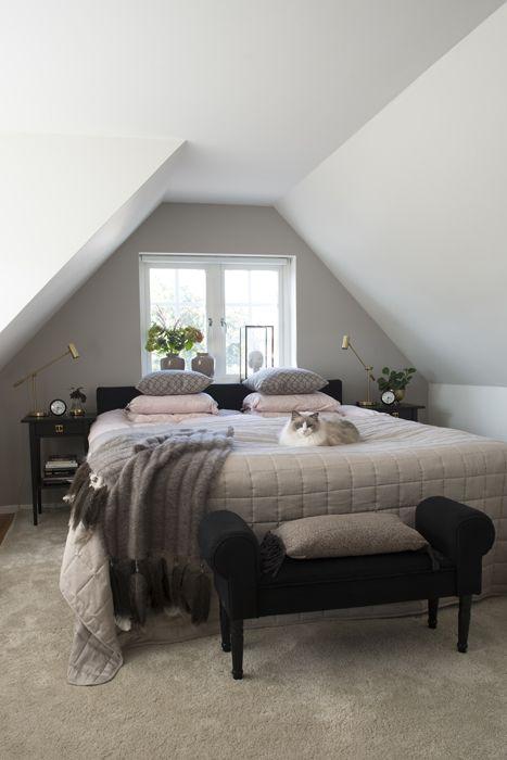 Sovrum med hotellkänsla. Foto: Peter Erlandsson. alltihemmet.se