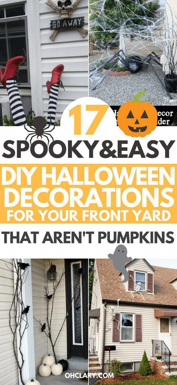 The Best DIY Halloween decorations for outdoor and yard to turn your