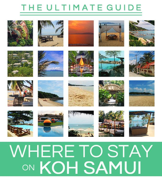Where to stay on Koh Samui?