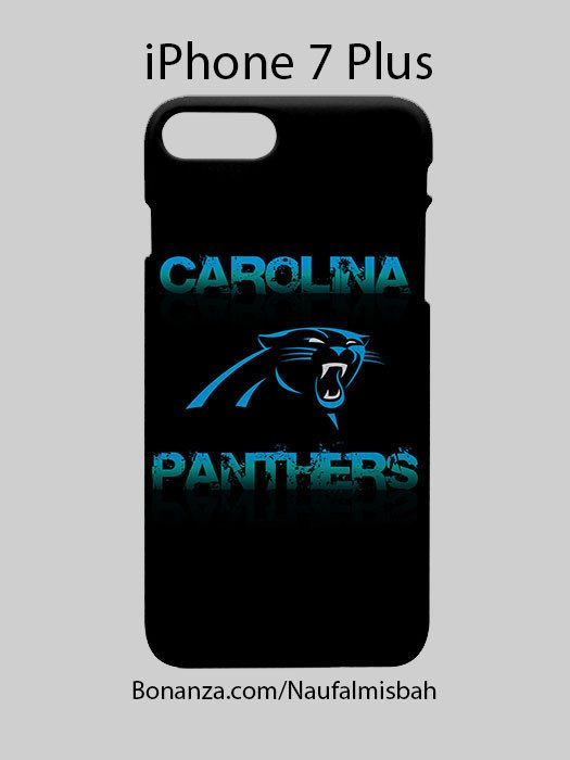 Carolina Panthers Inspired iPhone 7 PLUS Case Cover Wrap Around