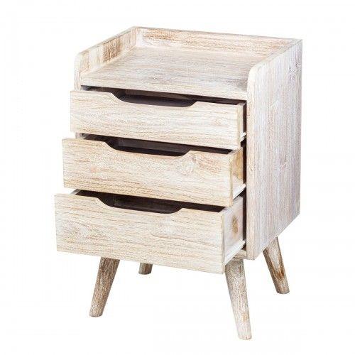 Muria | furniture meja laci kayu jati desain skandinavia rumah kamar bedroom bedside table drawer furniture design home decor