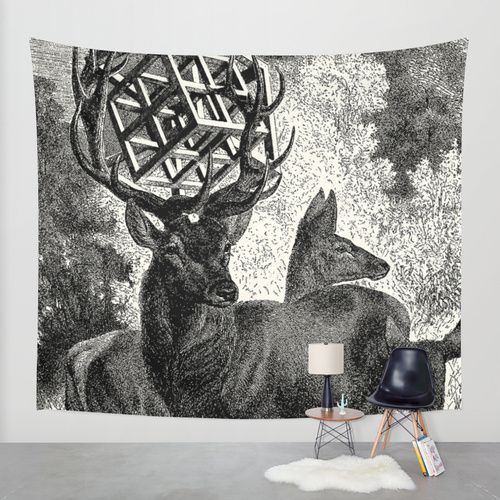 """""""Metatrons cube hypercube"""" Wall Tapestry by DIVIDUS on Society6."""