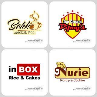 Desain Logo | Logo Kuliner |  Desain Gerobak | Jasa Desain dan Produksi Gerobak | Branding: Desain Logo Kuliner