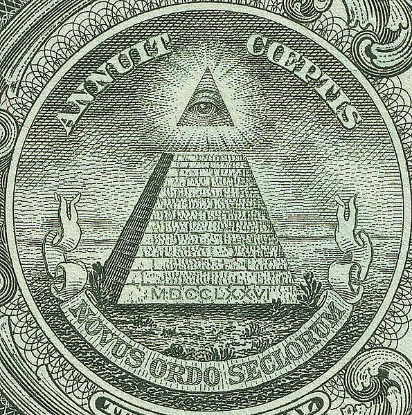 Masonic Vice-President Henry A Wallace Msonic President FDR added the pyramid to the dollar bill in 1935