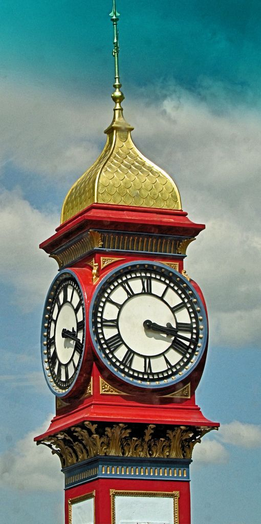Jubilee Clock | by webeyer Weymouth Seafront. Part of the Jubilee Clock which was erected in 1887 to mark the 50th year of Queen Victoria's reign.