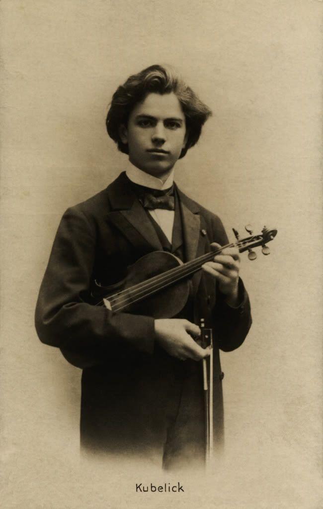 Ян Кубелик / Jan Kubelick скрипач-вундеркинд, в 15 лет выступал в Москве с…