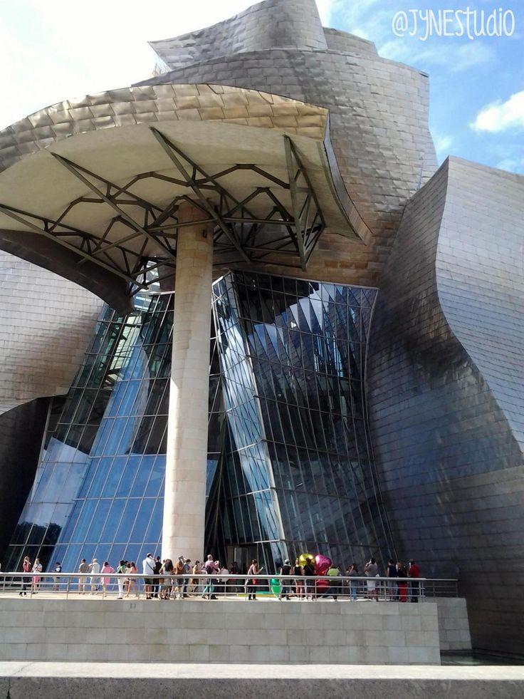 Paseando por Bilbao... #Guggenheim #inspiracionJyN