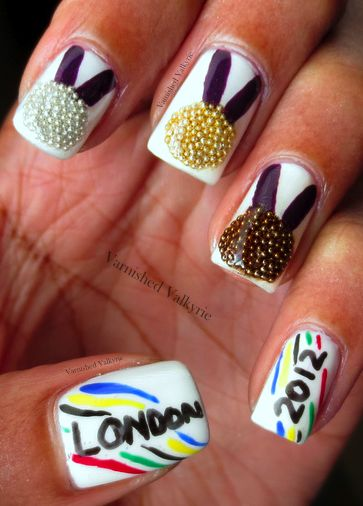 Olympic Nails great for our next Women Wednesday!