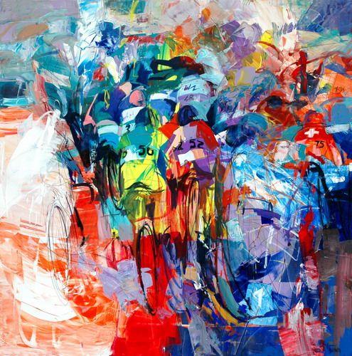 ITALIAN CYCLING JOURNAL: Cycling Art by Antonio Tamburro, Part II