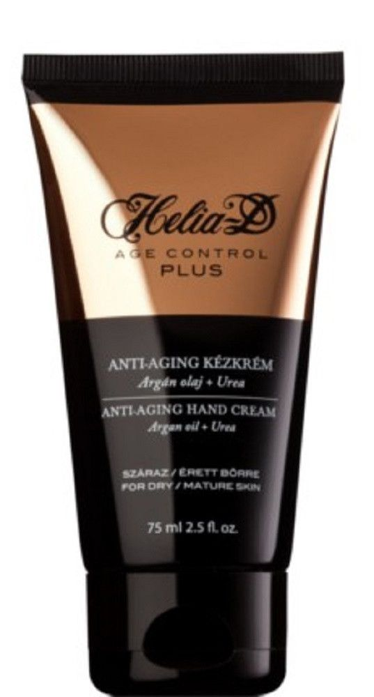 Helia-D Age Control Plus Anti-Aging Hand Cream with Argan oil and Urea
