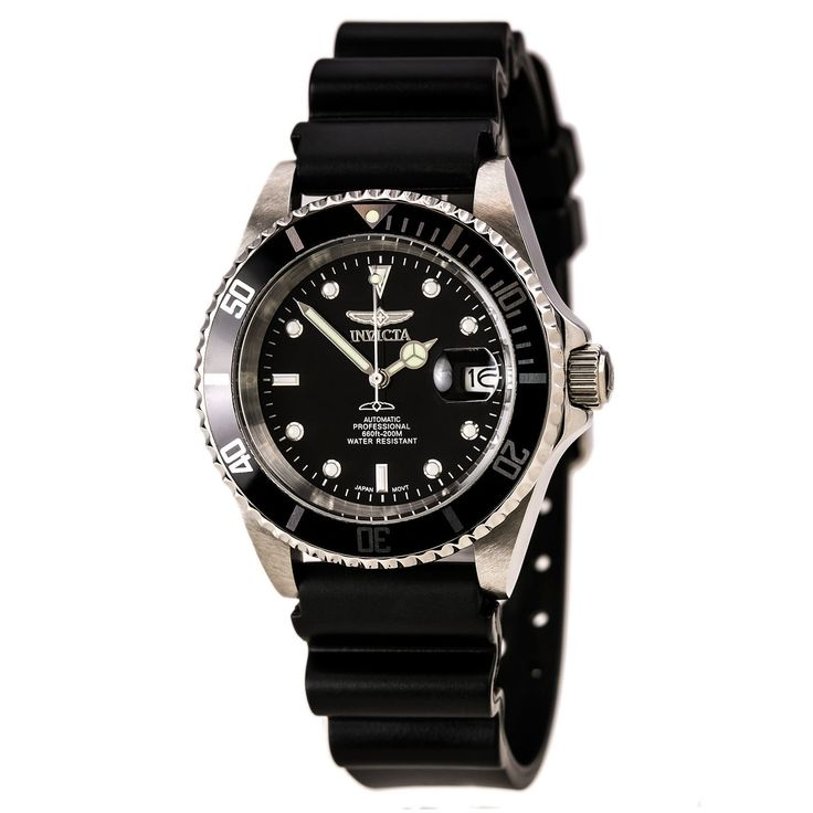 Invicta 8926CR Men's Coin Edge Bezel Automatic Diver with Rubber Strap