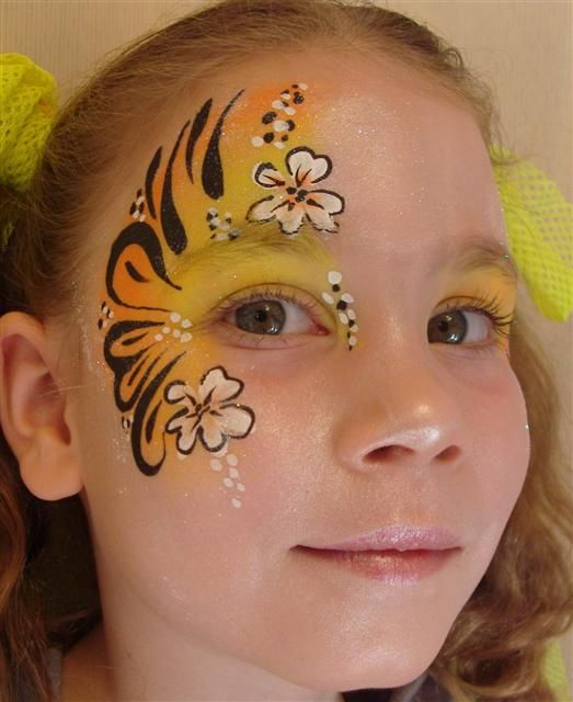 easter face painting - Google Search                                                                                                                                                                                 More