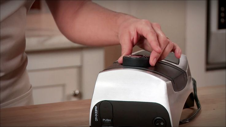KitchenIQ 50353 Angle Adjust Adjustable is a professional Electric Knife Sharpener. This is a versatile knife sharpener. It will sharpen virtually every knife in the knife block to the original factory quality edge. It works smoothly.