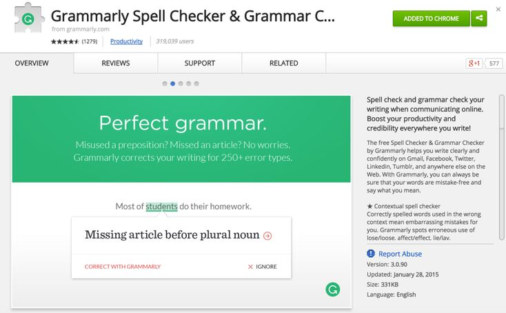 Favorite Chrome Extension for Writing: Grammarly | Catlin Tucker, Honors English Teacher | Bloglovin'