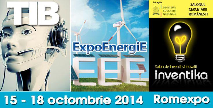 In perioada 15 – 18 octombrie, ROMEXPO a organizat trei manifestari expozitionale dedicate tehnologiei pe toate planurile: TIB – Targul Tehnic International Bucuresti – eveniment ajuns la editia cu numarul 40; ExpoEnergiE –Targ international de energie regenerabila, energie conventionala, echipamente si tehnologii pentru industria de petrol si gaze naturale; Inventika – Salon de Inventii si Inovatii