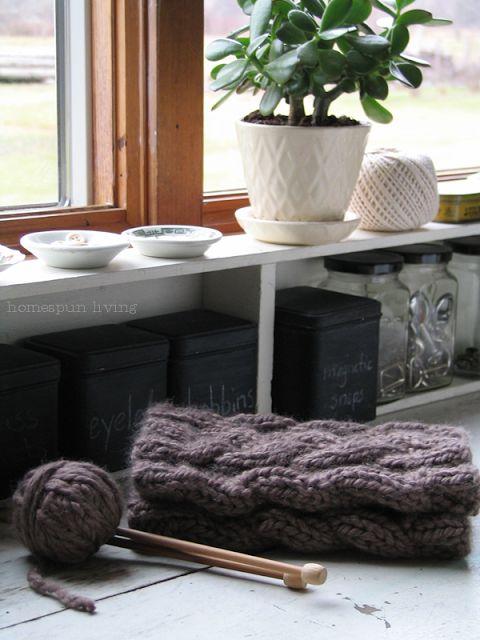 Knitting Pattern: Boot Cuffs