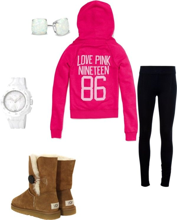 """cold lazy day outfit :)"" by laurissac on Polyvore"