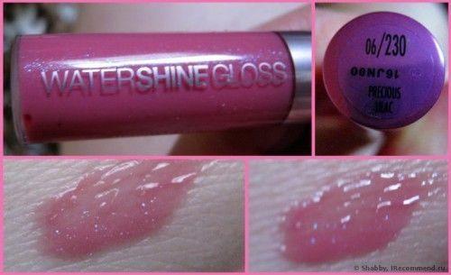 Maybelline Watershine Lip Gloss 2 Pieces - 2 Different Shades - 5 ml #MaybellineNewYork