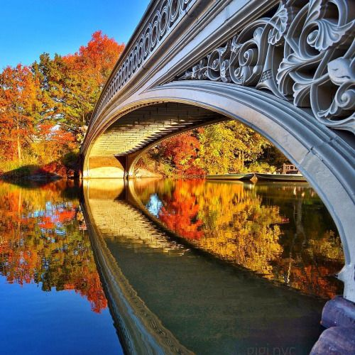 The Bow Bridge / Central Park / New York                                                                                                                                                                                 Mehr