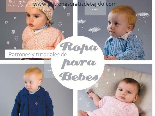 Mejores 91 imágenes de Tejido, bebés en Pinterest | Ropa bebe ...