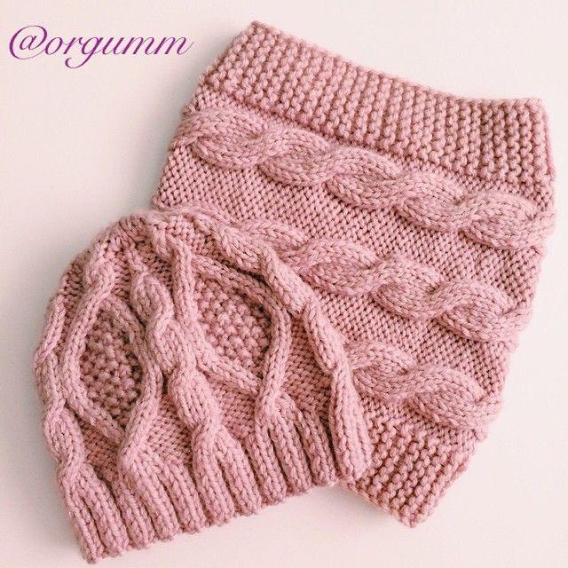 Instagram media orgumm - #knit #knitted #knittedbeanie #cowl #collar #snood…