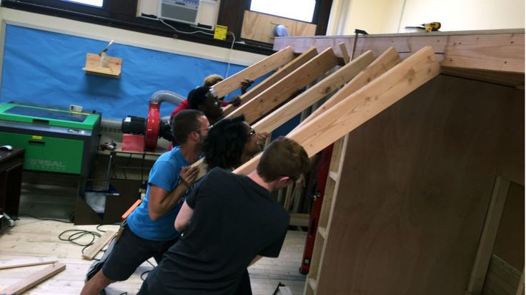 Giving kids the freedom to design, build and iterate in a high school makerspace has helped excite students about engineering and bring a more diverse set of students into STEM subjects.