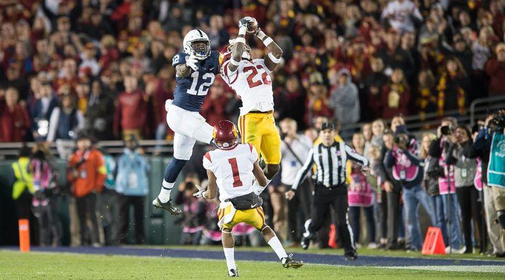 WeAreSC | USC Football | Recruiting | Basketball | Photos: 2017 Rose Bowl