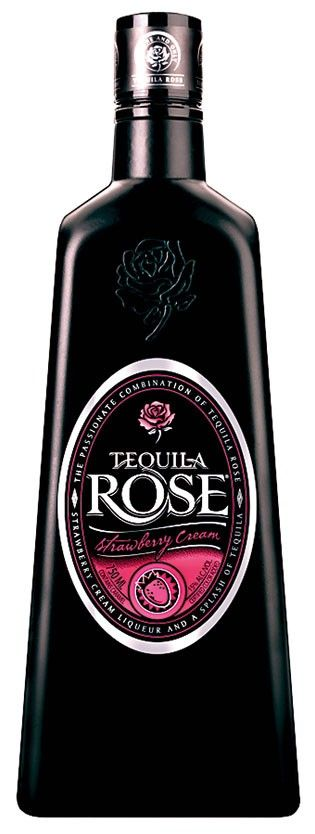 Tequila Rose Strawberry Cream Liqueur. Would a rose by any other name smell as sweet? We think so; Tequila Rose!  | spiritedgifts.com