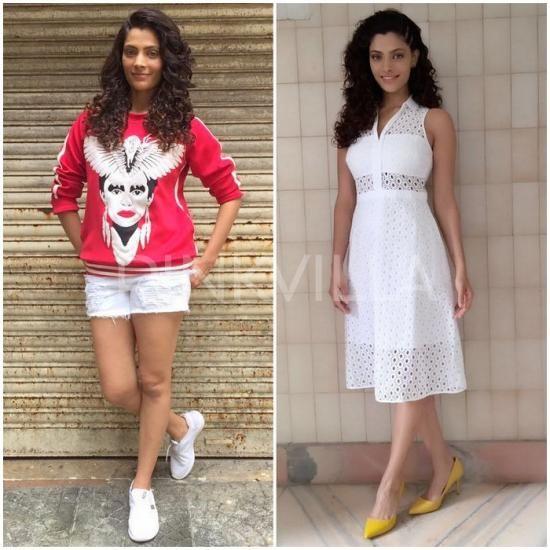 Celebrity Style,ami patel,Guess,Saiyami Kher,Mirzya,Ekam