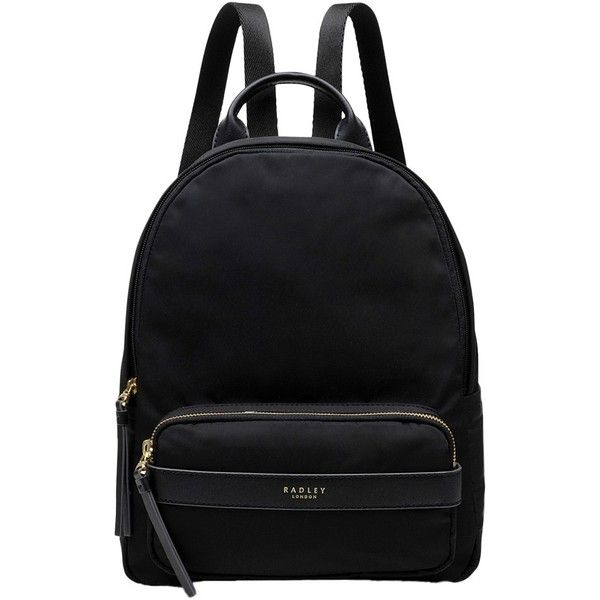 Radley Harley Medium Zip Backpack ($130) ❤ liked on Polyvore featuring bags, backpacks, radley, rucksack bags, zip close bags, radley backpack and zipper bag