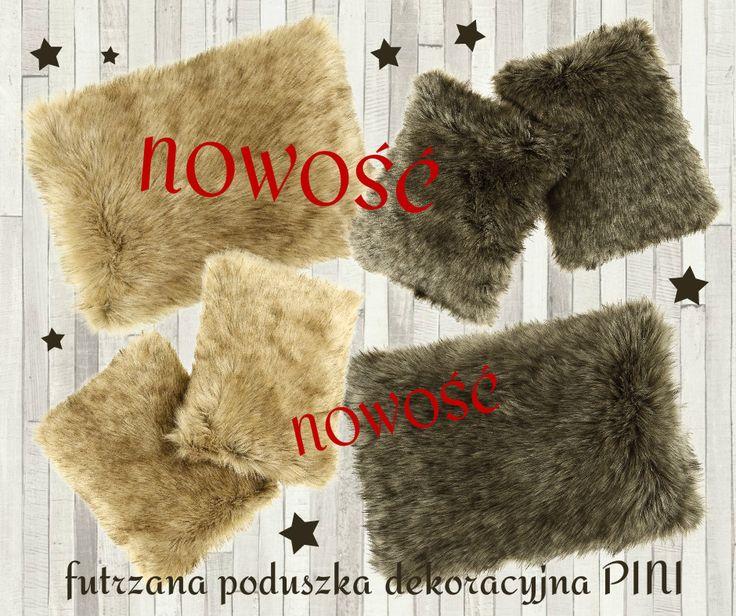 Świąteczne NOWOŚCI od www.FurDeko.pl ⭐futrzana poduszka dekoracyjna PINI ⭐ Kliknij: http://furdeko.pl/pol_m_PODUSZKI_PINI-211.html ⭐ www.FurDeko.pl