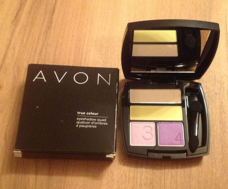 AVON TRUE COLOUR EYESHADOW QUAD...LUMINOSITY...BRAND NEW AND BOXED #Avon