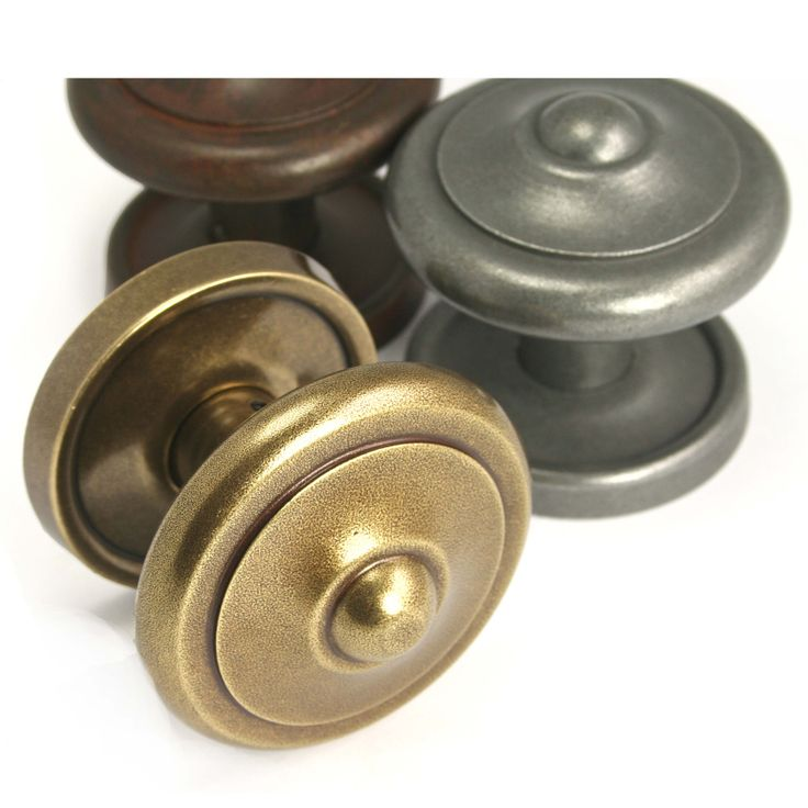 Rustic Knobs Close-Up #bronze #brass #silver #knobs #homedeco #renovation #motherofpearl #MOP