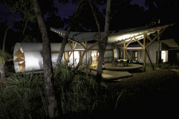 Living in an eco chic luxury pod in Australia