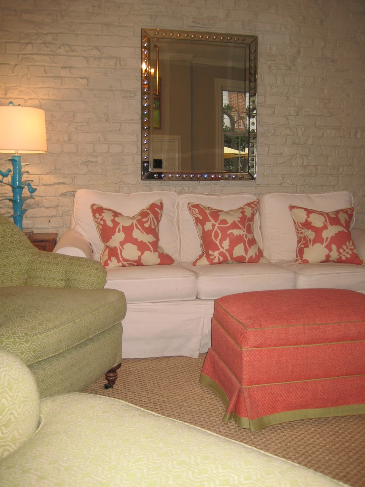 115 best coral or salmon interiors images on pinterest for Lucy williams interiors