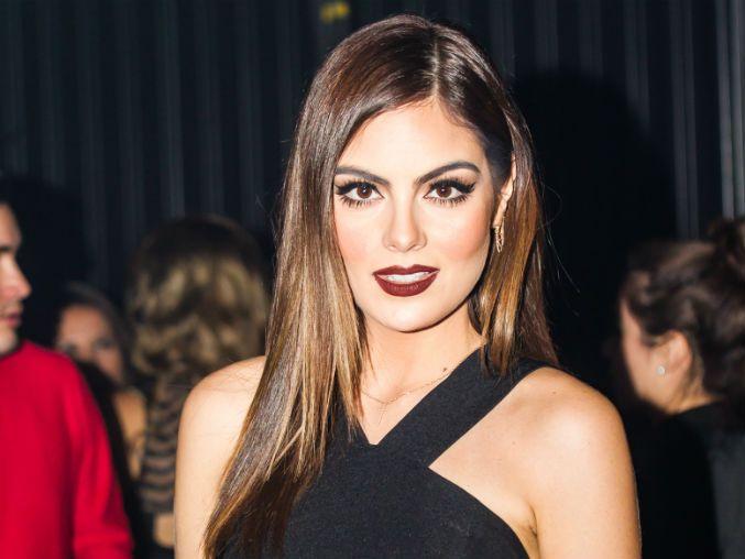 Ximena Navarrete's lovely makeup. Mexican beauty queen.