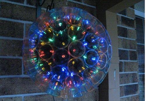 Plastic Cup Christmas Ball
