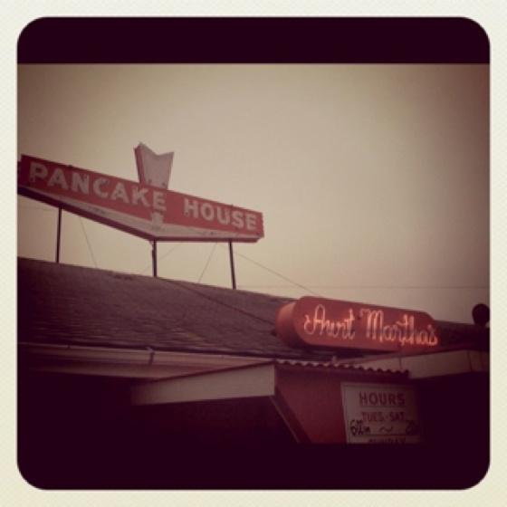 Aunt Martha's Pancake House - Springfield, MO.